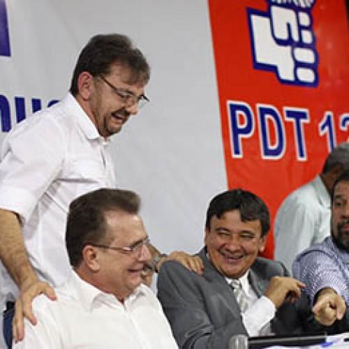 PDT faz encontro e reúne governador, Wilson e Firmino em clima cordial