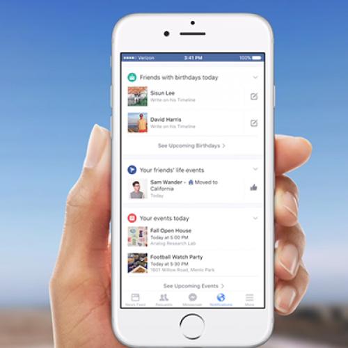 Facebook ganha novidades para funcionar sem conexão à internet