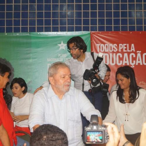 Lula no Piauí: O Nordeste é capaz de manter Dilma no governo até 2018