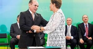 Fala de Dilma sobre Marcelo Castro durante posse durou um minuto . Veja!