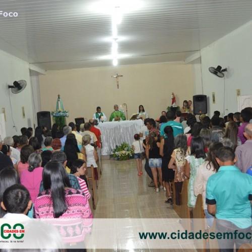 Jacobina do Piauí celebrou a padroeira Nossa Senhora Aparecida
