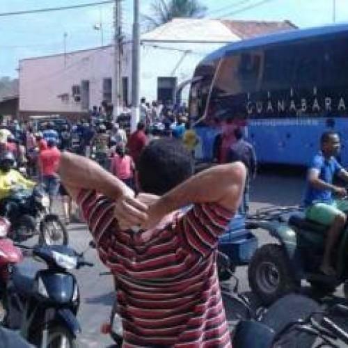 Ônibus da Guanabara que vinha para Teresina é assaltado e bando estupra passageiras
