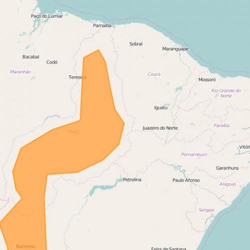 Piauí recebe alerta de perigo de calor e seca com umidade chegando a 10%