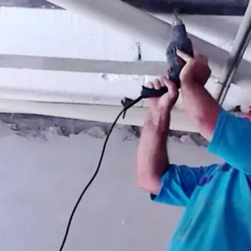 Vice-prefeito trabalha como pedreiro para complementar a renda no Piauí