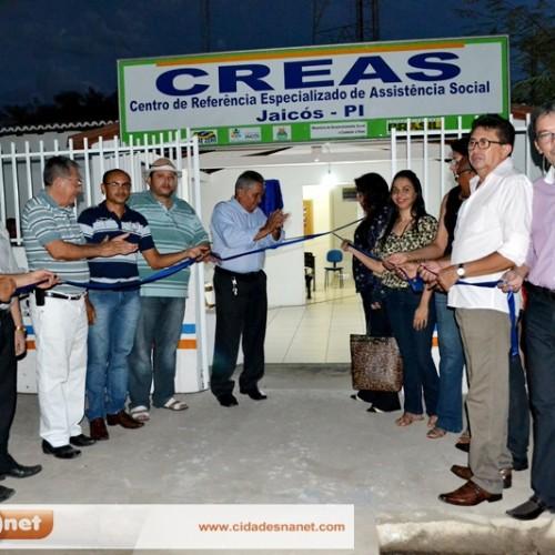 JAICÓS | Prefeitura reinaugura o Centro de Referência Especializado em Assistência Social (CREAS)