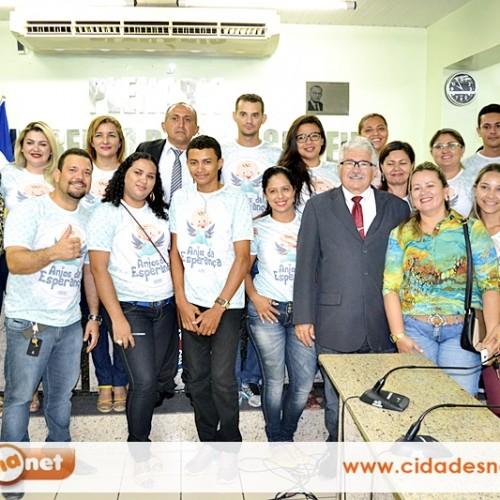 JAICÓS | Eleita a diretoria do projeto 'Anjos da Esperança', que já arrecadou mais de 600 kg de alimentos