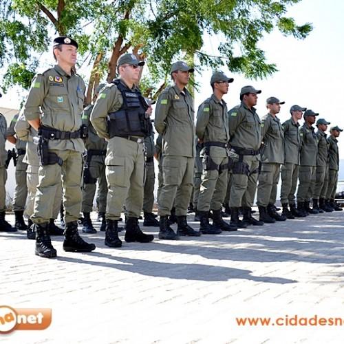 JAICÓS   20 novos soldados são apresentados na 3ª Companhia de Polícia Militar