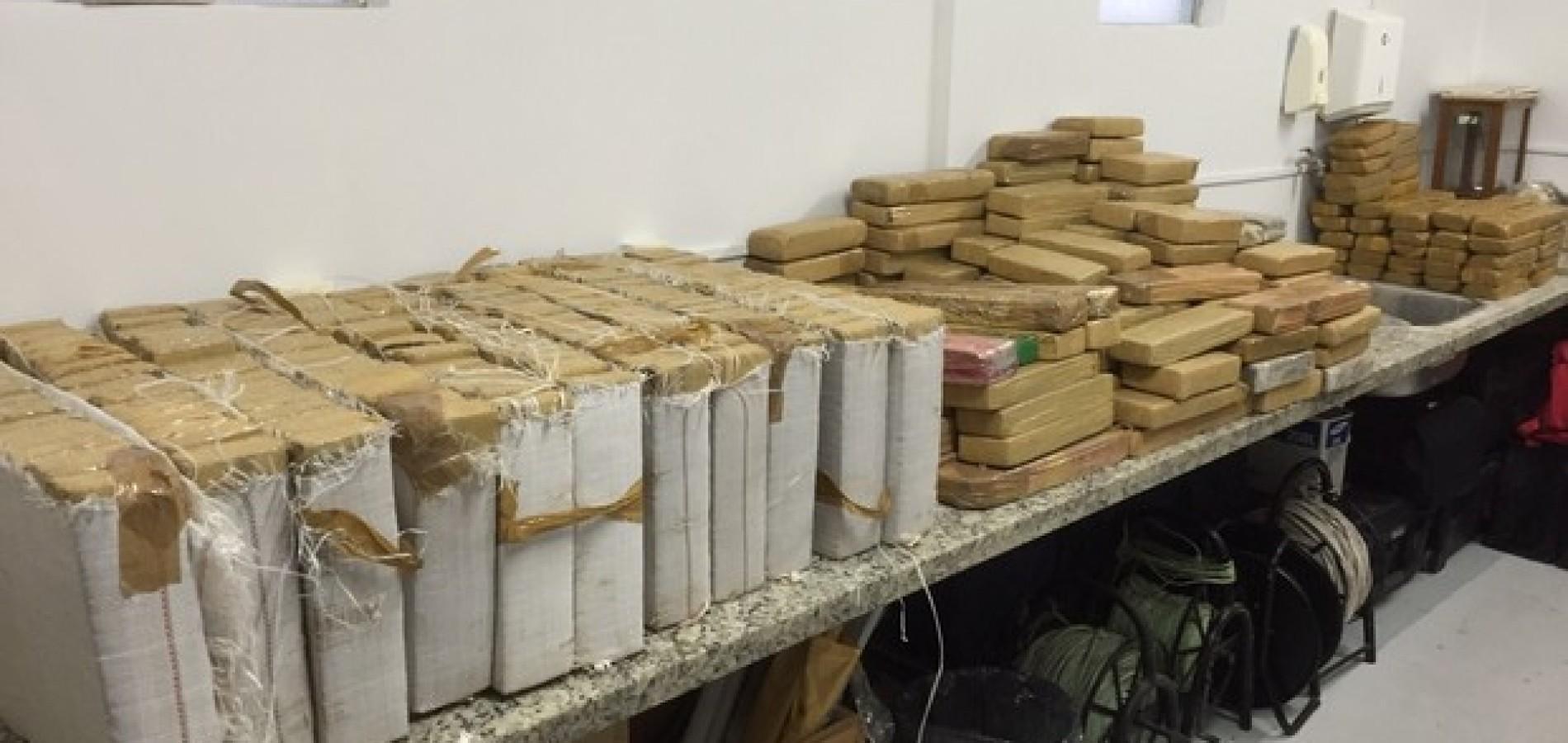 Polícia Federal faz maior apreensão de drogas da história no Piauí ; foram 360 kg