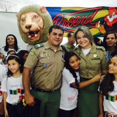 Programa Educacional de Resistência às Drogas e à Violência já atua em mais de 65 municípios do Piauí