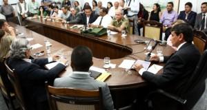 Reunião com APPM, SESAPI, , FUNASA, PM, EXERCITO e BOMBEIROS