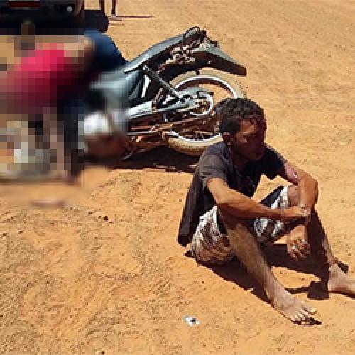 Colisão entre motos deixa um morto e outro ferido