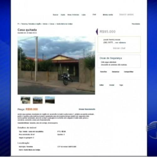 Casas de programas federais são vendidas na internet no Piauí