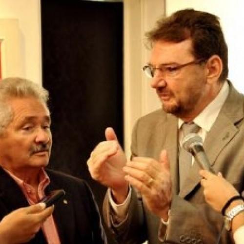 Wilson Martins e Elmano Ferrer devem se encontrar no mesmo palanque em 2016