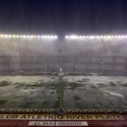 Chuva alaga o Monumental e partida do Brasil contra Argentina é adiado