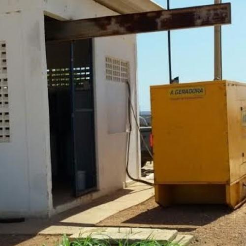 Agespisa monta geradores na adutora Poço de Marruá em Patos que abastece 5 cidades
