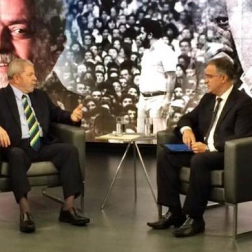 Em entrevista ao SBT,  Lula afirma que não tem medo de ser preso e  admite equívocos de Dilma