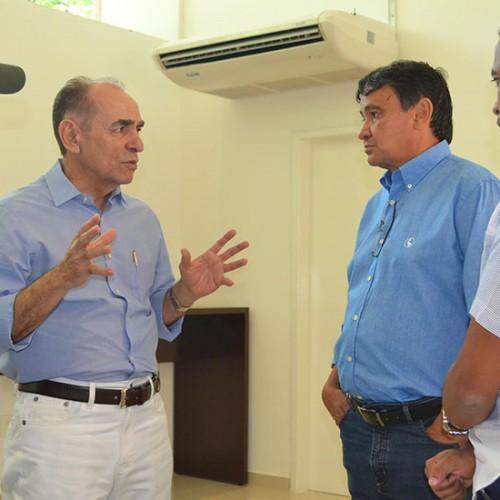Marcelo Castro e Wellington Dias discutem ações integradas na saúde
