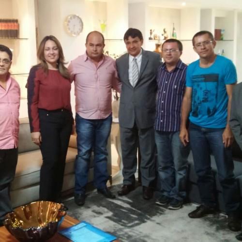 PT de Francisco Macedo busca investimentos para o município junto ao Governo do Estado