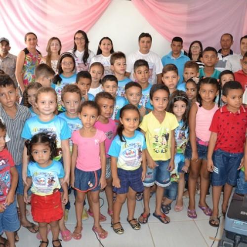 Abertura da II Semana do Bebê em Vera Mendes; fotos!