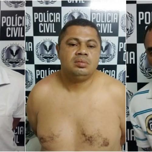 Trio é preso em aeroporto  acusado de assaltar Caixa e levar R$ 1 mi de agência
