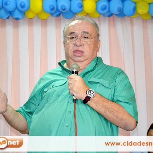 Heráclito formaliza retorno ao DEM e confirma apoio a Rodrigo Maia