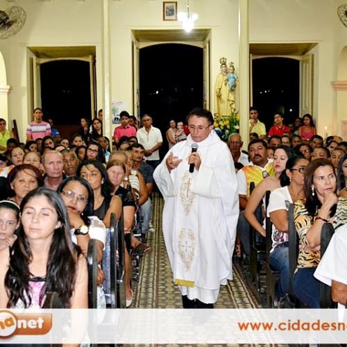 Padre Manoel Moura celebra a Missa da Saúde e se despede da Paróquia de Jaicós