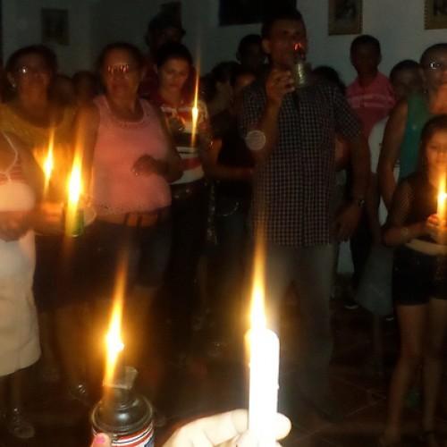 Natal na escuridão. Como foi a missa-protesto de moradores do interior de Paulistana pedindo energia elétrica