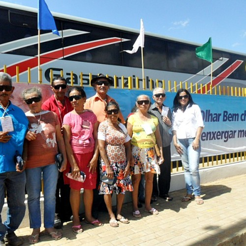 Idosos de Patos do Piauí são beneficiados com cirurgia de catarata gratuita