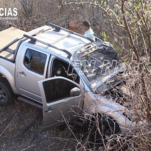 Colisão entre moto e  camionete de Jaicós deixa vítima fatal na  BR-407, em Paulistana