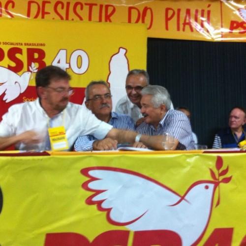 Wilson reúne Zé Filho e Elmano para discutir futuro do PSB em 2016