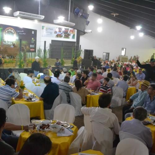 Leilão do setor agropecuário na Expoapi movimenta economia do estado
