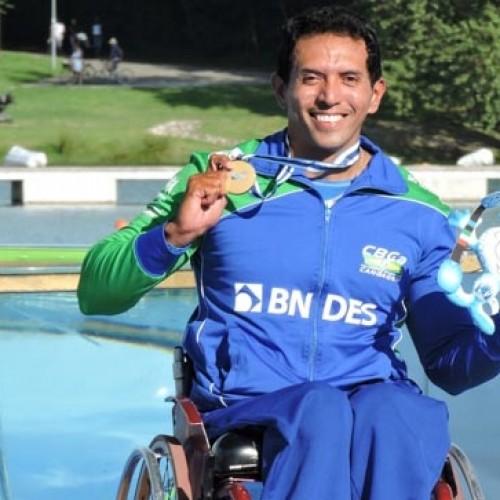 Picoense é eleito o melhor para-atleta de canoagem do Brasil em 2015