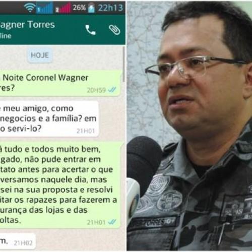 PICOS | Após vazamento de suposta conversa com empresário, Wagner Torres afirma ter sido vítima de um perfil falso