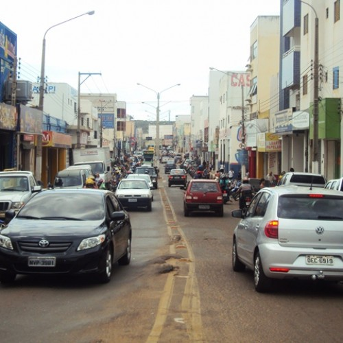 Projeto Zona Azul continua sem funcionar no Centro de Picos