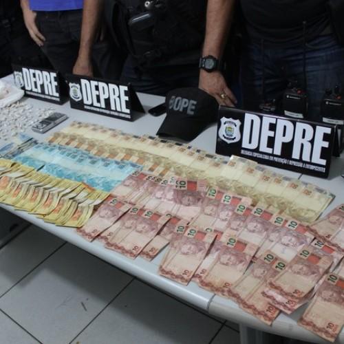 Polícia prende três traficantes que planejam roubos a bancos no interior do Piauí