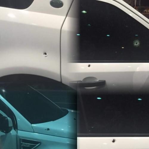 Carro com o cantor Chambinho do Acordeon sofre atentado à tiros em Teresina