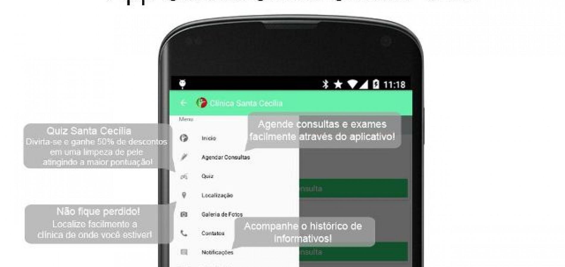 JAICÓS   Clínica Santa Cecília lança nova versão de aplicativo para celular