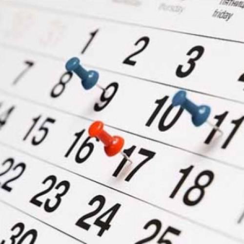 Calendário de 2016 terá 9 feriados e 5 pontos facultativos. Veja!