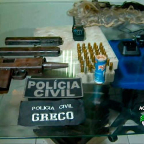 Polícia encontra explosivos nunca vistos no Piauí, com acusados de assaltar BB