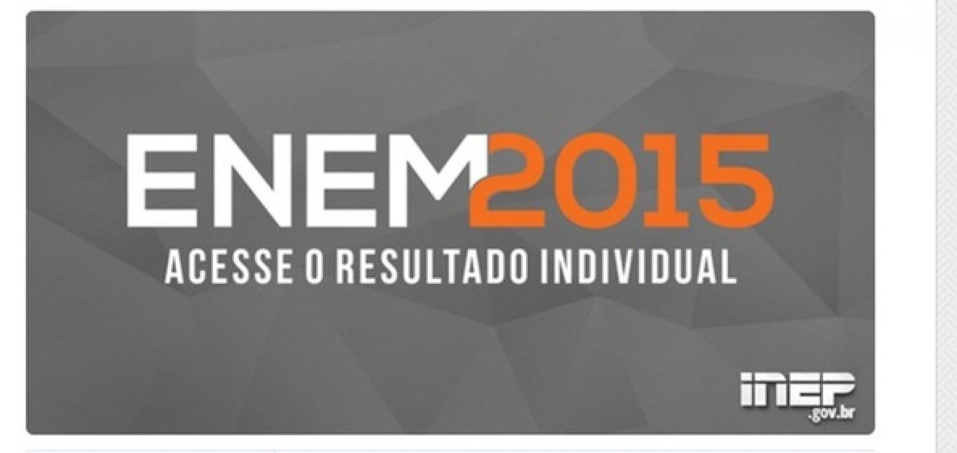 Inep divulga notas do Enem 2015; confira!