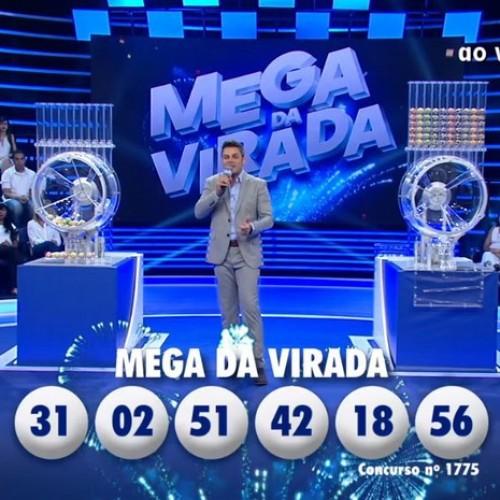Mega da Virada: seis apostas dividem prêmio e cada uma leva R$ 41 milhões
