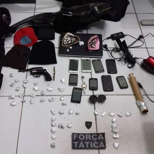 Polícia prende quadrilha de assaltantes em Oeiras