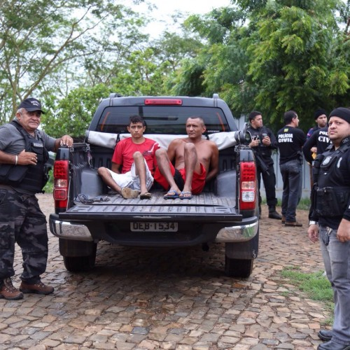 Oito pessoas são presas em nova operação de combate ao tráfico de drogas no interior do Piauí