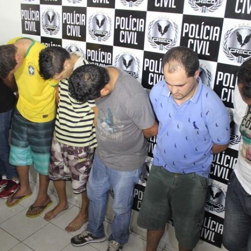 Polícia prende seis suspeitos de explodirem caixas eletrônicos no Piauí