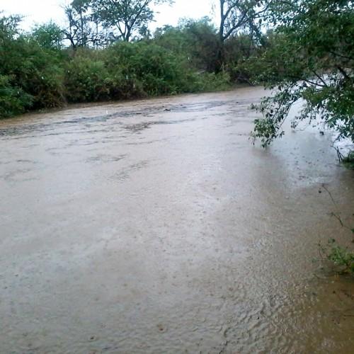 Chove em Massapê durante a madrugada e rio registra a primeira cheia em 2016