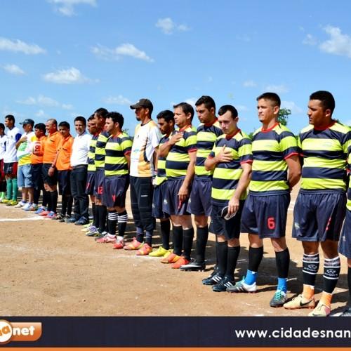 Tradicional Campeonato Municipal de Futebol é iniciado em Caldeirão Grande do Piauí