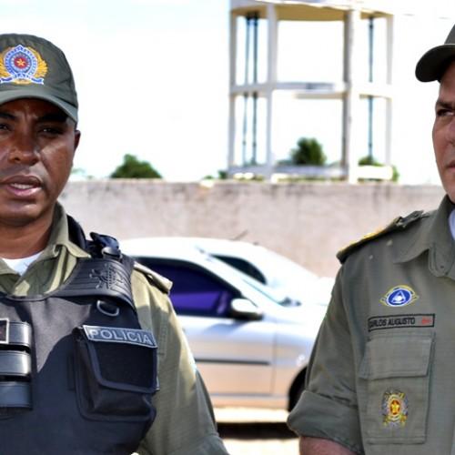 Comandante geral da Polícia Militar visita Jaicós e fala sobre fortalecimento na segurança no interior