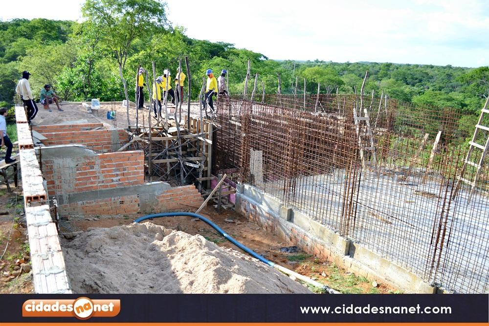 Obras de construção da ETA