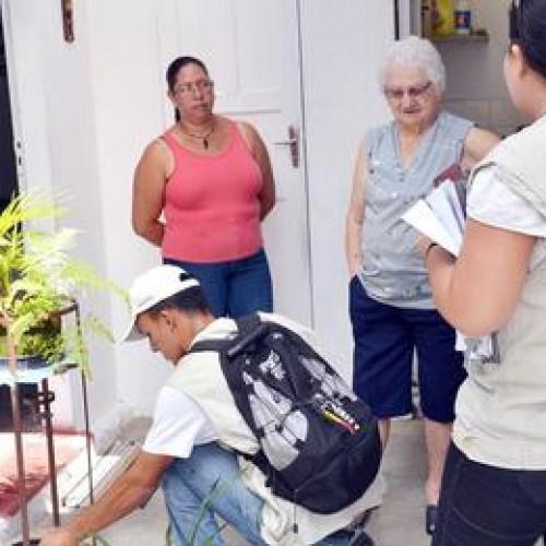 Piauí é um dos estados com maior número de visitas à domicílios contra a dengue