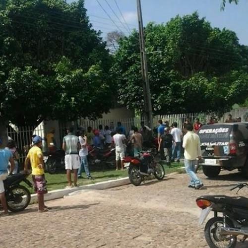 Bandidos tentam assaltar agência dos Correios e trocam tiros com policiais no interior do Piauí